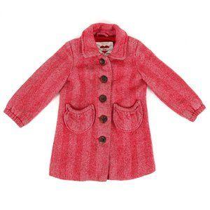 GAP herringbone wool blend coat, girl's size 3